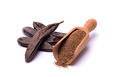 farine de graines de caroube et de guar